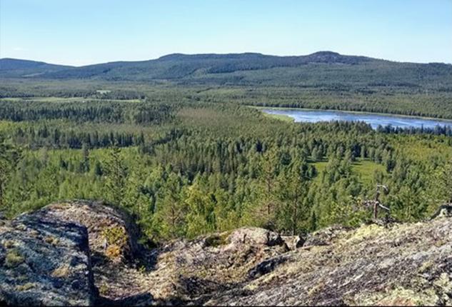 Deglberget in Sörbyn