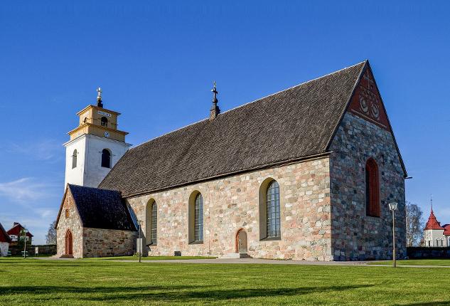 Gammelstads Church in Luleå